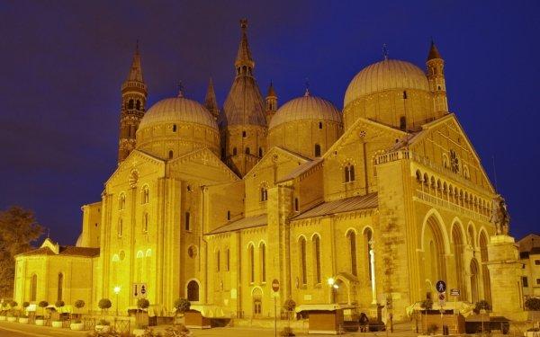 Religious Basilica of Saint Anthony of Padua Basilicas  HD Wallpaper   Background Image