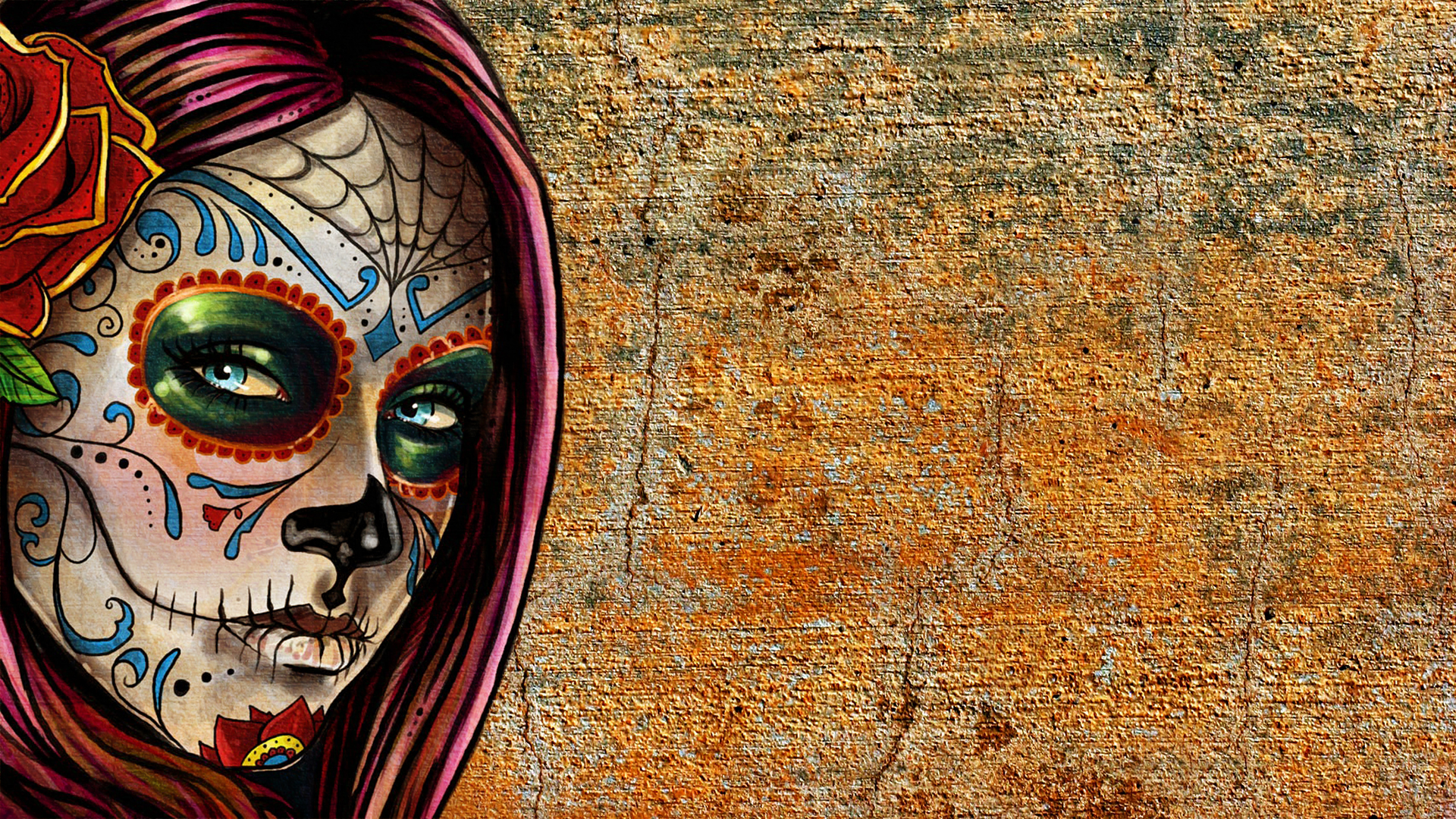 Sugar Skull Wallpaper for Pinterest TutXSLyN