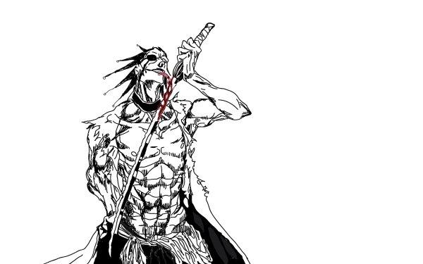 Anime Bleach Kenpachi Zaraki HD Wallpaper | Background Image
