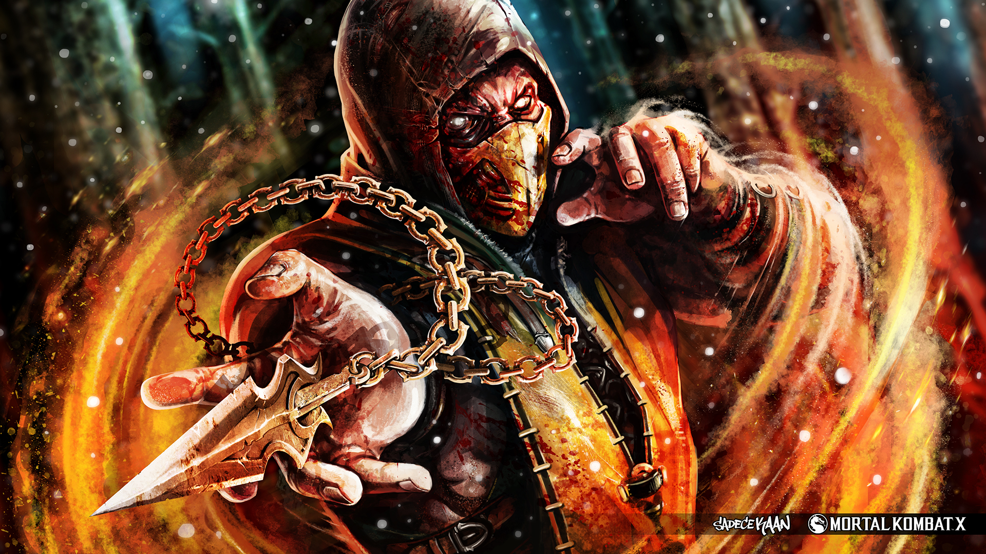 40 Scorpion Mortal Kombat HD Wallpapers