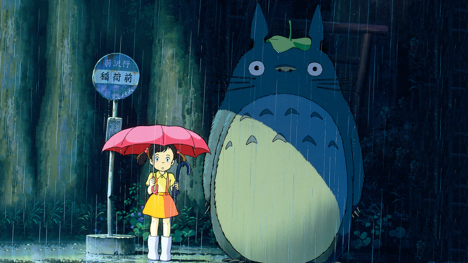 My Neighbor Totoro Full Hd Wallpaper And Background Image