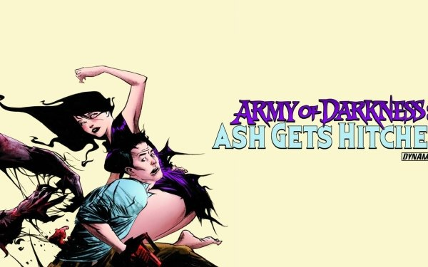 Comics Army Of Darkness: Ash Gets Hitched Ash Williams HD Wallpaper | Background Image