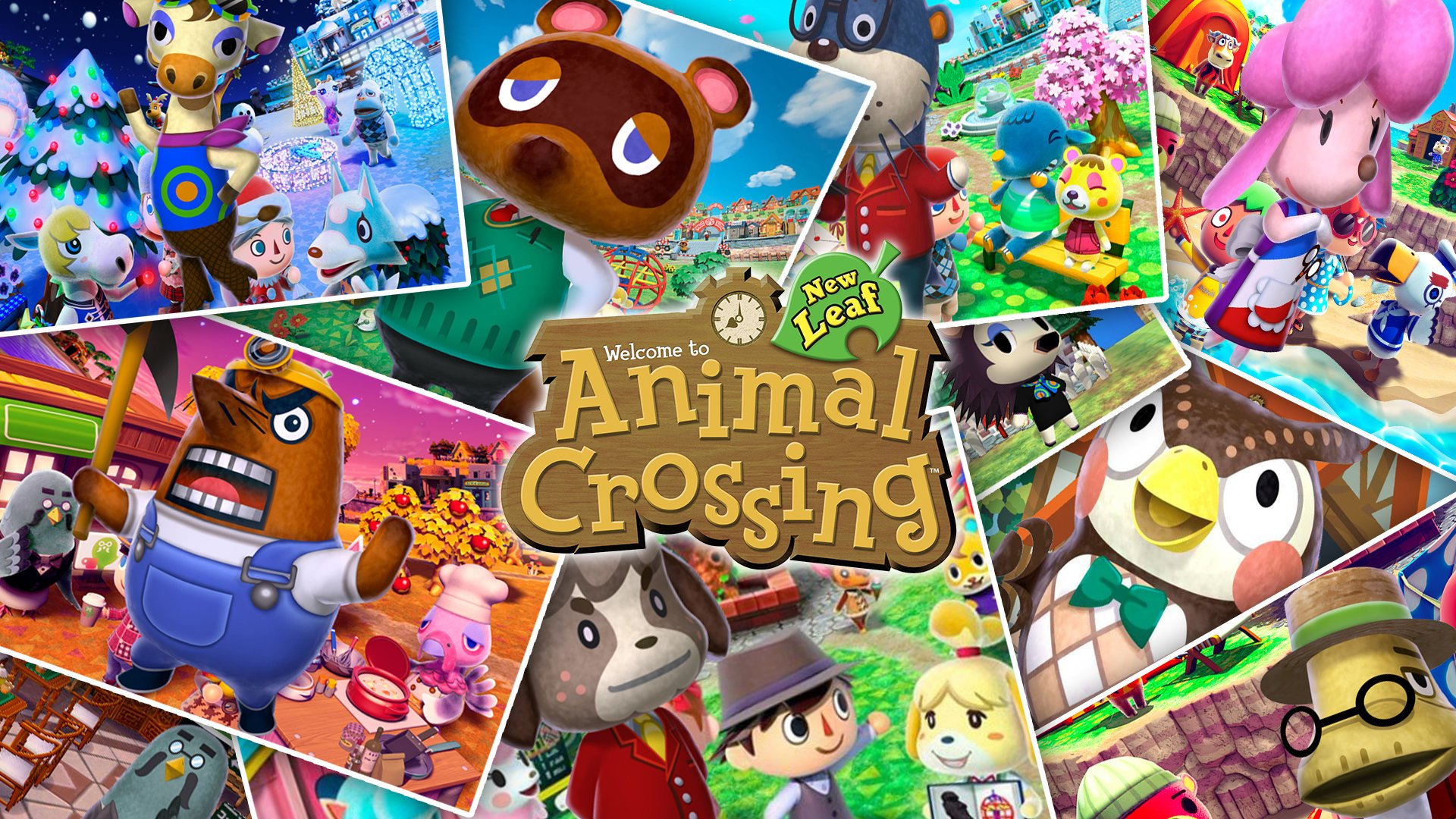 9 Animal Crossing New Leaf Hd Wallpapers Background Images