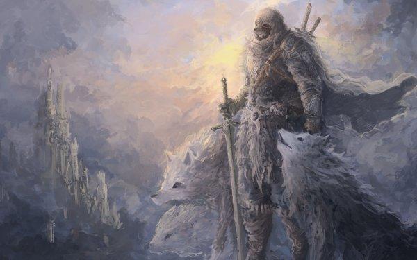 Fantasy Warrior HD Wallpaper | Background Image