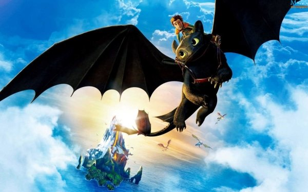 Movie How to Train Your Dragon 2 How to Train Your Dragon Toothless Hiccup HD Wallpaper   Background Image