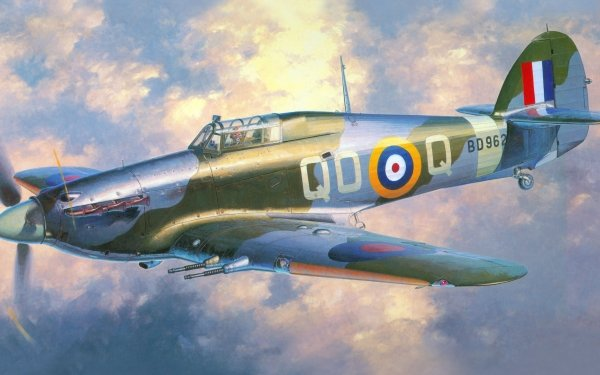 Military Hawker Hurricane Military Aircraft HD Wallpaper | Background Image