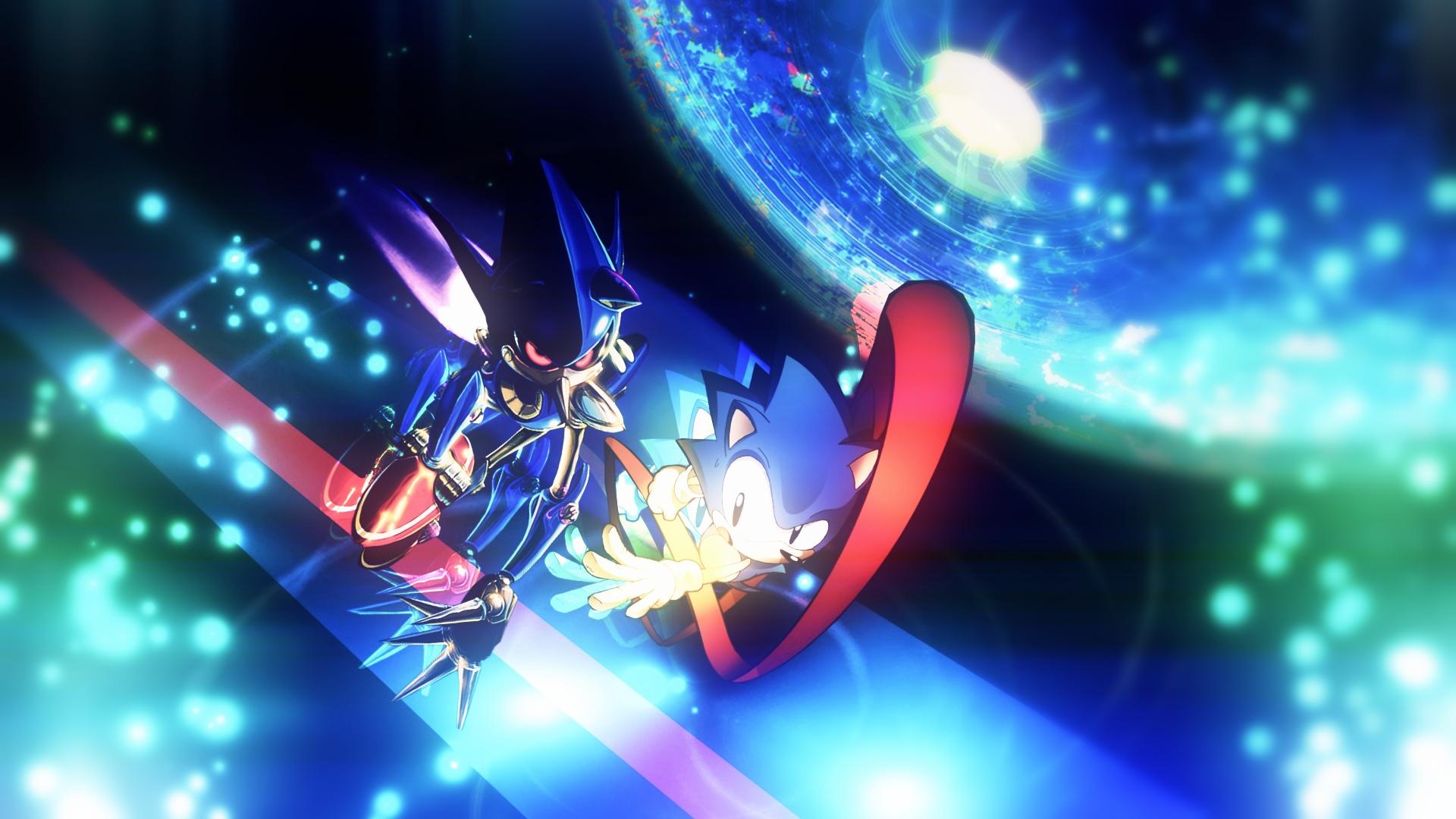 Sonic CD HD Wallpaper