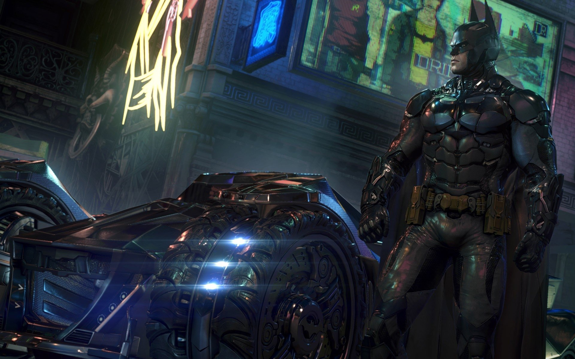 Batman Arkham Knight Scarecrow HD Wallpaper