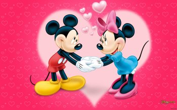 Cartoon - Mickey And Minnie Wallpapers and Backgrounds ID : 520890