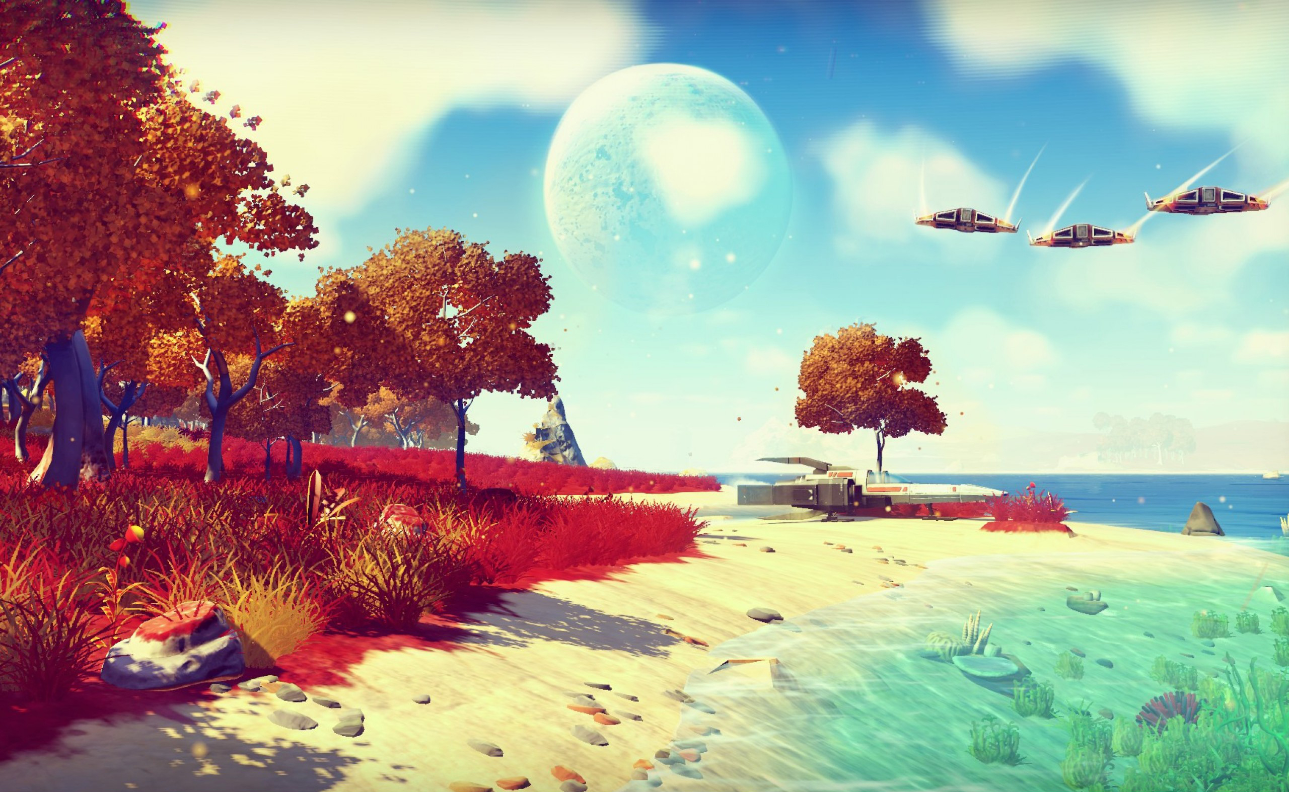 131 No Man S Sky Hd Wallpapers Background Images Wallpaper Abyss