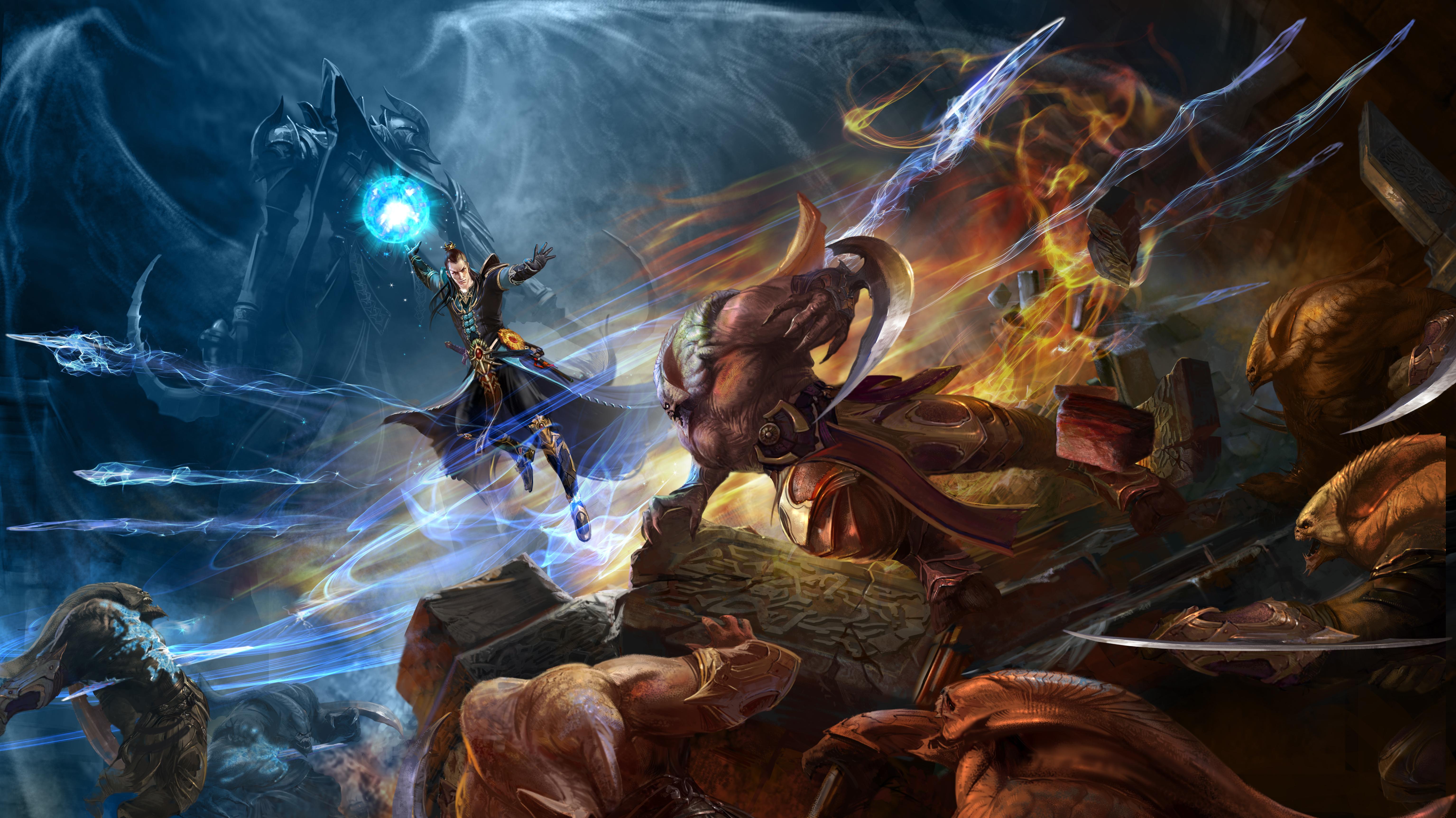 Diablo III: Reaper Of Souls 5k Retina Ultra HD Wallpaper ...