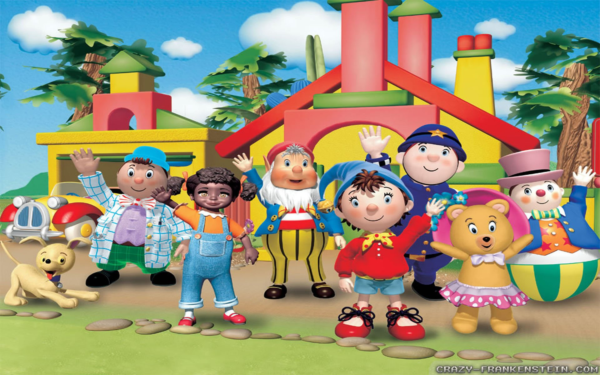 noddy wallpaper