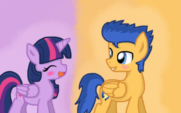 TV Show My Little Pony: Friendship is Magic My Little Pony Twilight Sparkle Flash Sentry HD Wallpaper | Background Image
