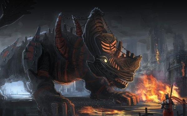 Fantasy Creature HD Wallpaper   Background Image