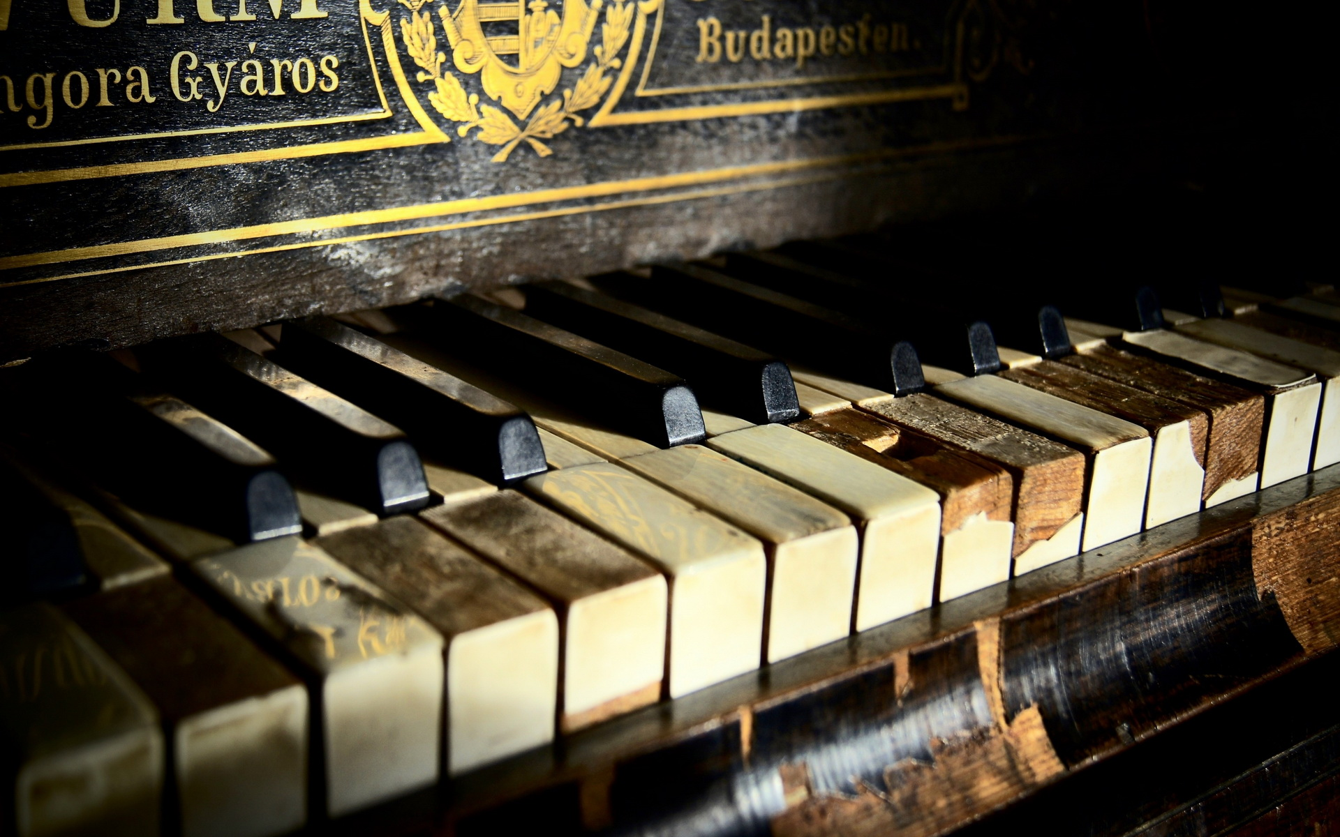 Rustic piano hd wallpaper background image 1920x1200 - Cool piano backgrounds ...