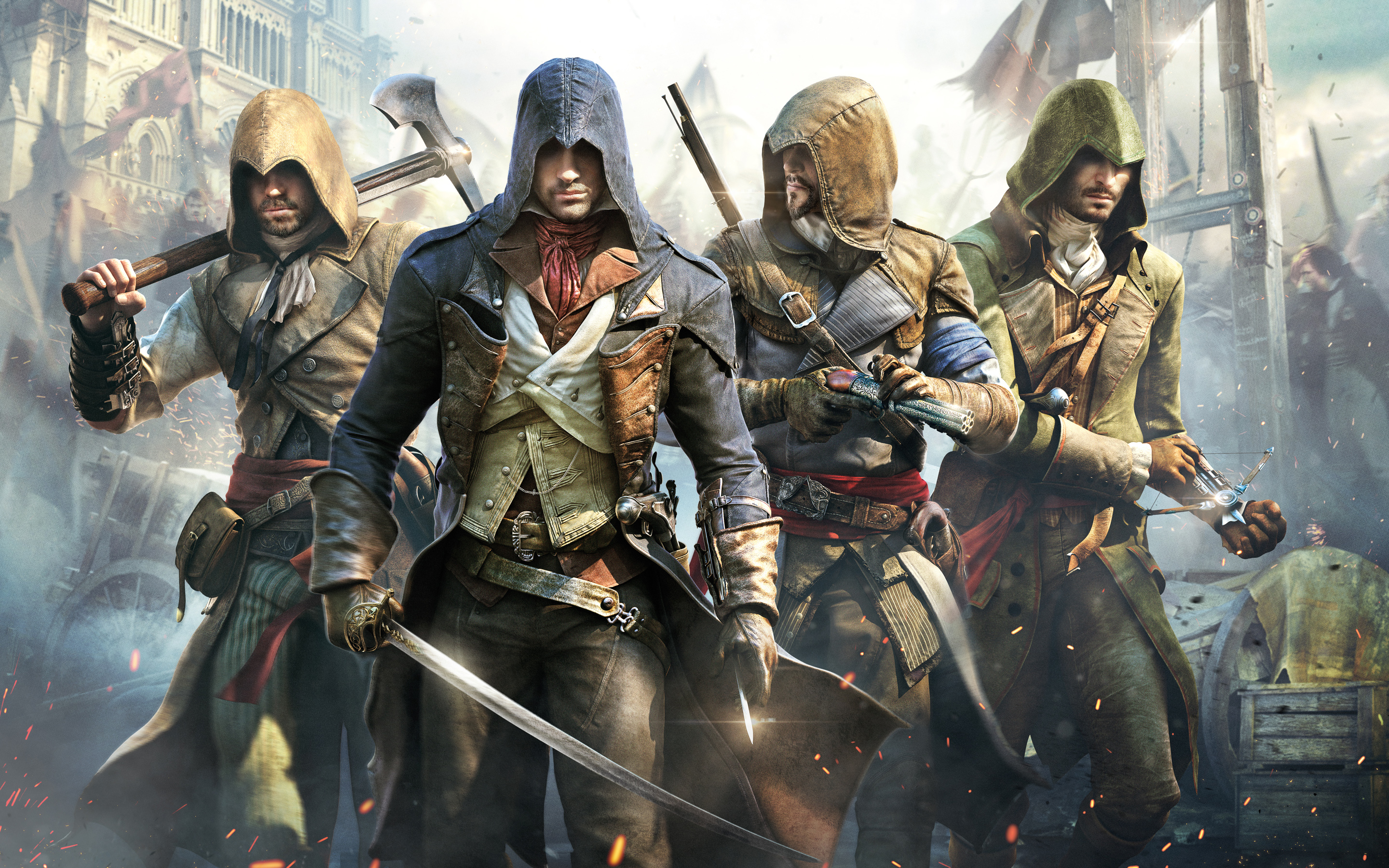 Assassin's Creed: Unity Full HD Wallpaper And Background