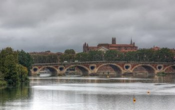Man Made - Pont Neuf, Toulouse Wallpapers and Backgrounds ID : 524159
