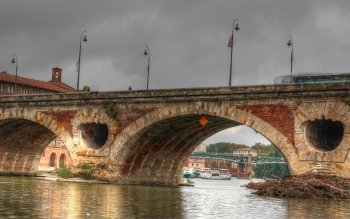 Man Made - Pont Neuf, Toulouse Wallpapers and Backgrounds ID : 524160