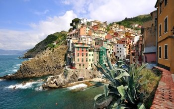 Man Made - Riomaggiore Wallpapers and Backgrounds ID : 525314