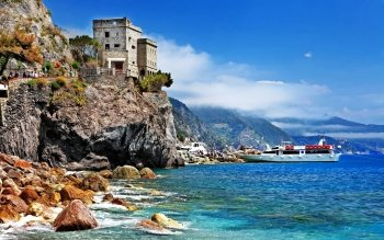 Man Made - Monterosso Al Mare Wallpapers and Backgrounds ID : 525328