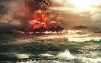 Earth - Volcano Wallpapers and Backgrounds ID : 526194