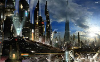 Sci Fi - City Wallpapers and Backgrounds ID : 527913