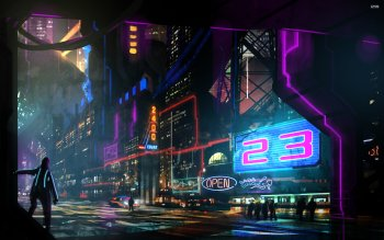 Sci Fi - City Wallpapers and Backgrounds ID : 527919