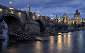 Man Made - Charles Bridge Wallpapers and Backgrounds ID : 527975