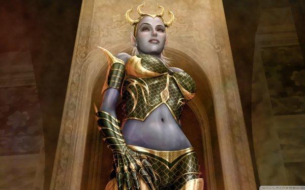 Fantaisie Legends Of Norrath Woman Fond d'écran HD | Arrière-Plan