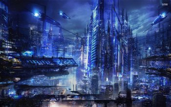 Sci Fi - City Wallpapers and Backgrounds ID : 528302