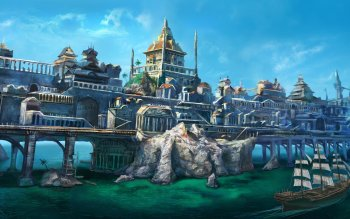 Fantasy - City Wallpapers and Backgrounds ID : 528597