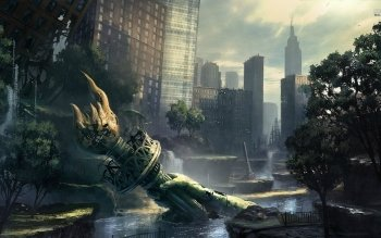 Sci Fi - Post Apocalyptic Wallpapers and Backgrounds ID : 529242