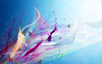 Abstract - Colors Wallpapers and Backgrounds ID : 529349