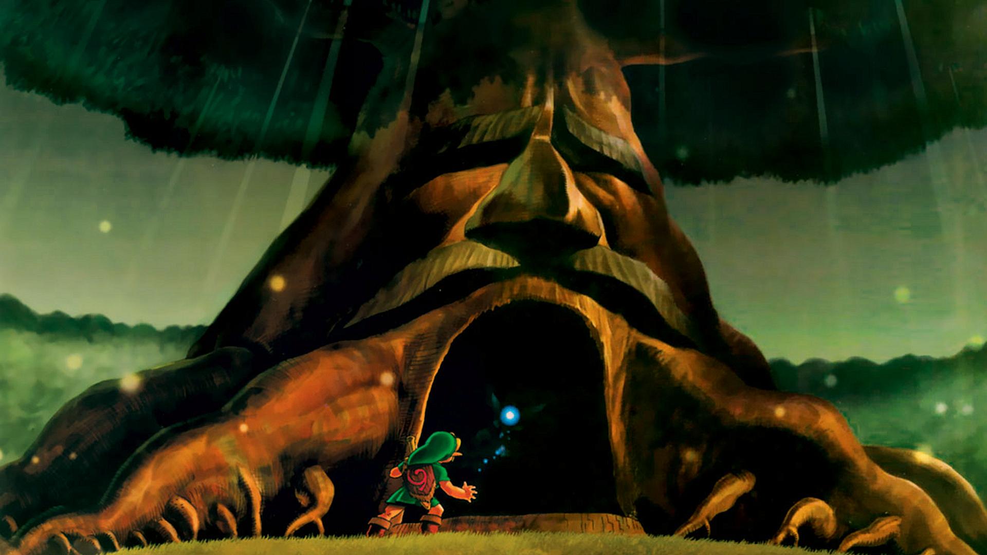The Legend Of Zelda Ocarina Of Time Hd Wallpaper Background Image