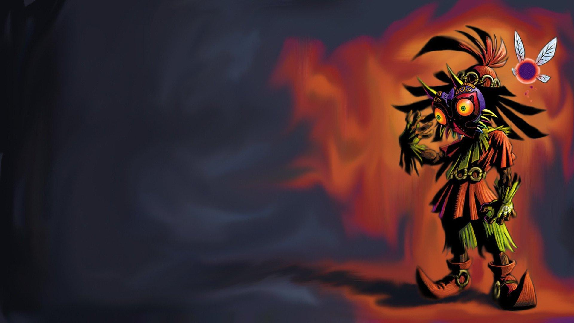The Legend Of Zelda Majora S Mask Hd Wallpaper Background Image 1920x1080 Id 531827 Wallpaper Abyss
