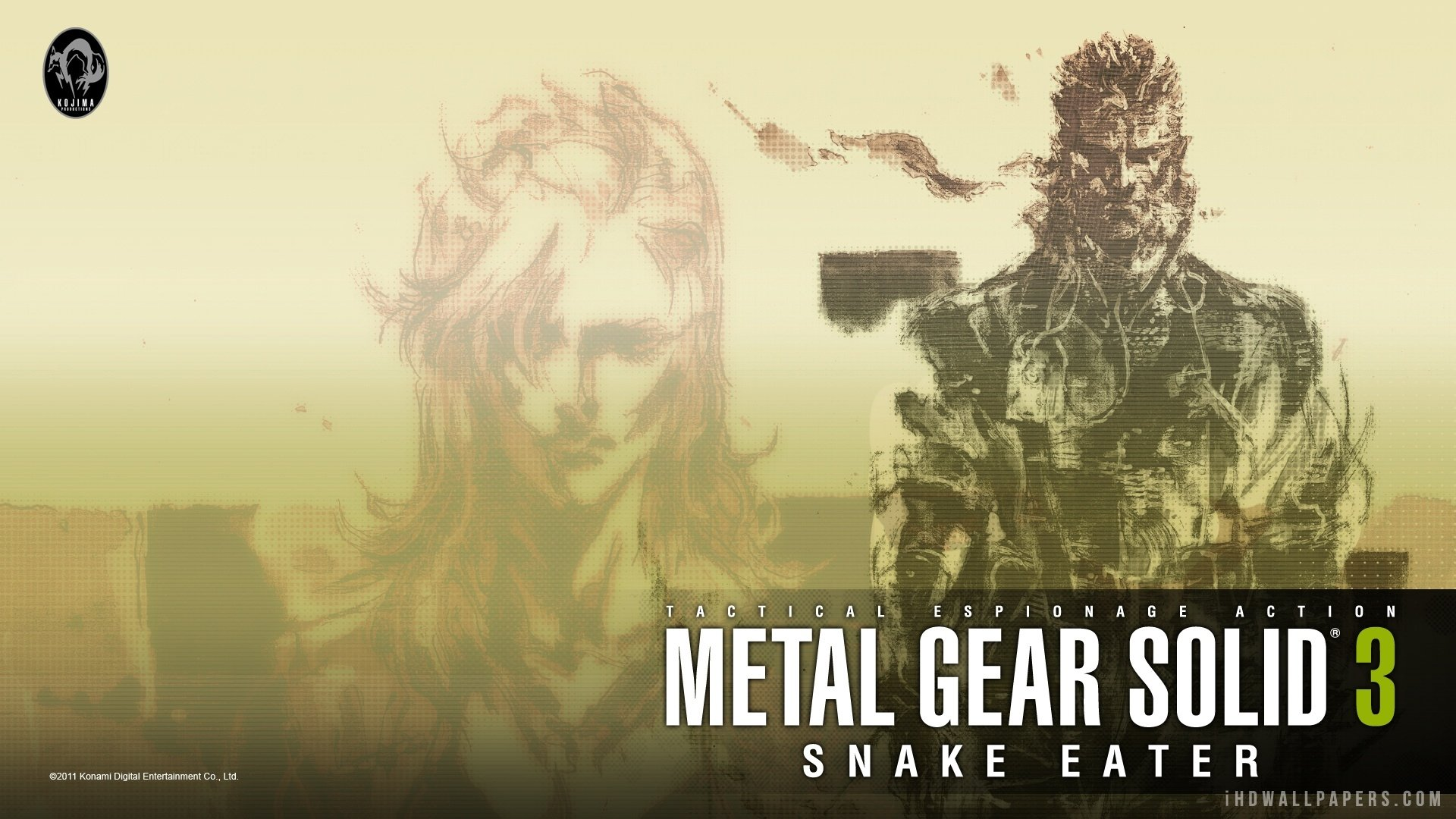 Metal Gear Solid 3 Snake Eater Hd Wallpaper Background Image