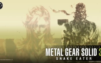 20 Metal Gear Solid 3 Snake Eater Hd Wallpapers Background