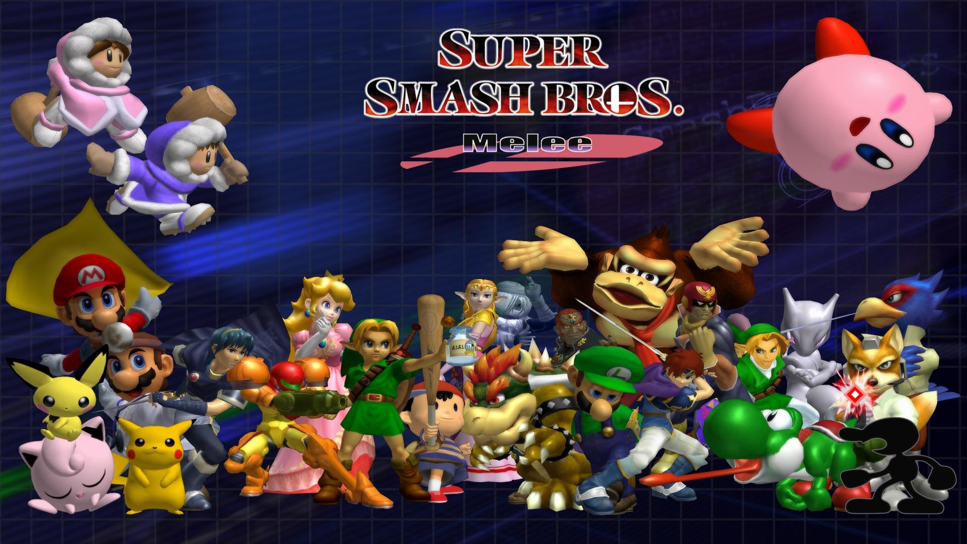 Super Smash Bros. Melee HD Wallpaper   Background Image ...