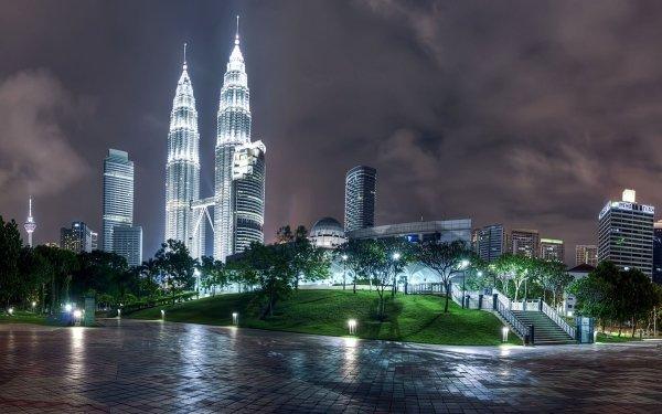 Man Made Kuala Lumpur Cities Malaysia Petronas HD Wallpaper | Background Image