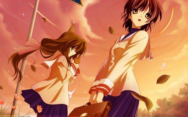 Anime Clannad Nagisa Furukawa Fuuko Ibuki HD Wallpaper   Background Image