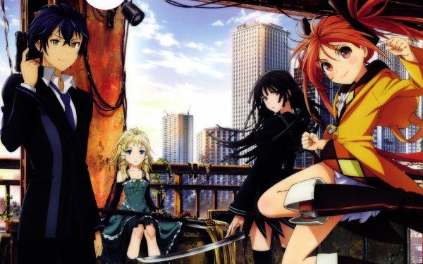 Anime Black Bullet Enju Aihara Rentaro Satomi Kisara Tendo Tina Sprout HD Wallpaper | Background Image