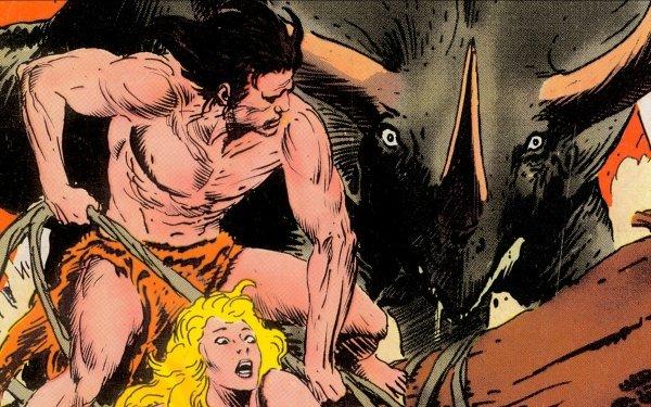 Comics Tarzan HD Wallpaper | Background Image