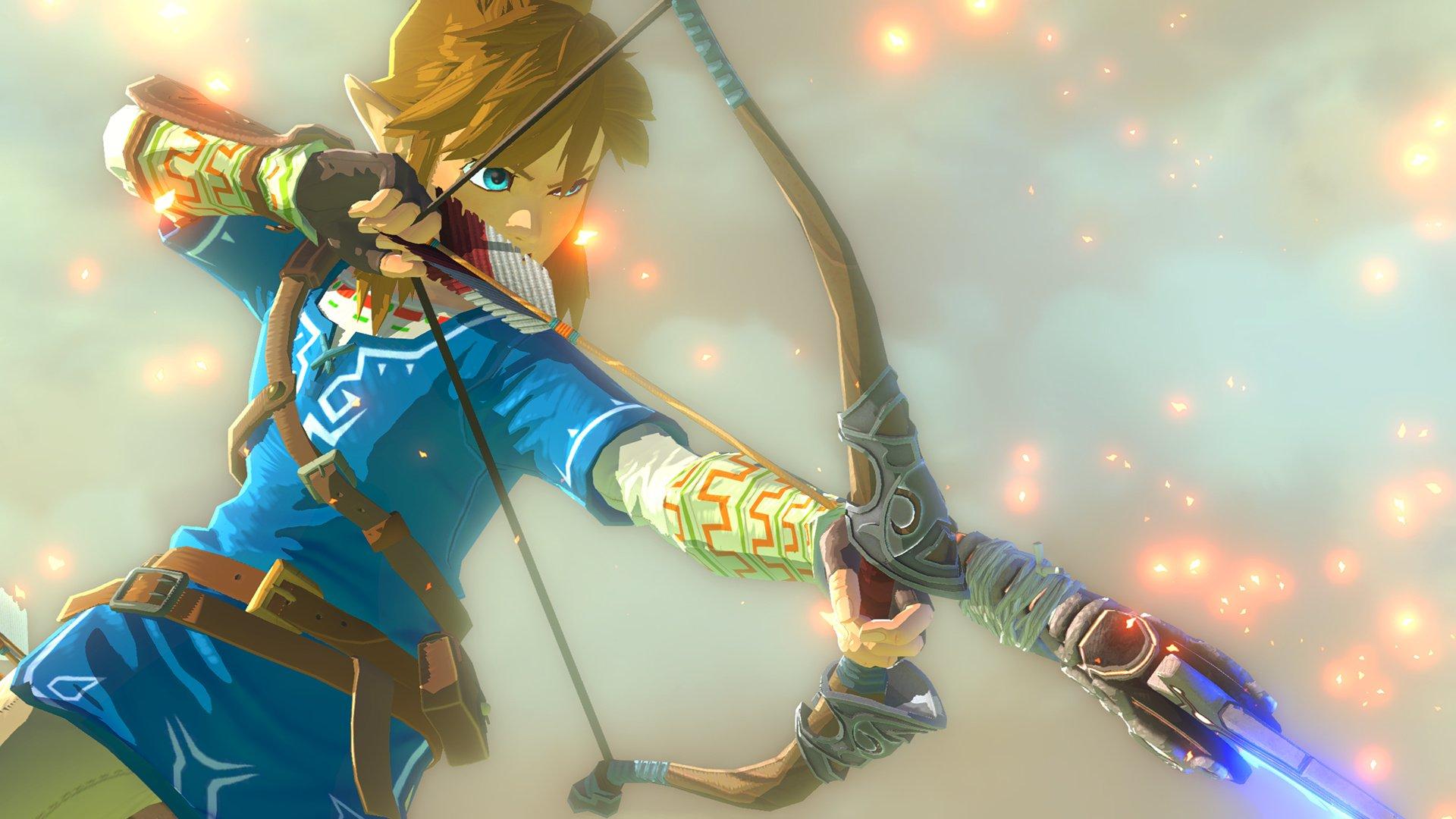Zelda Breath Of The Wild Wallpaper Hd: The Legend Of Zelda: Breath Of The Wild Full HD Wallpaper