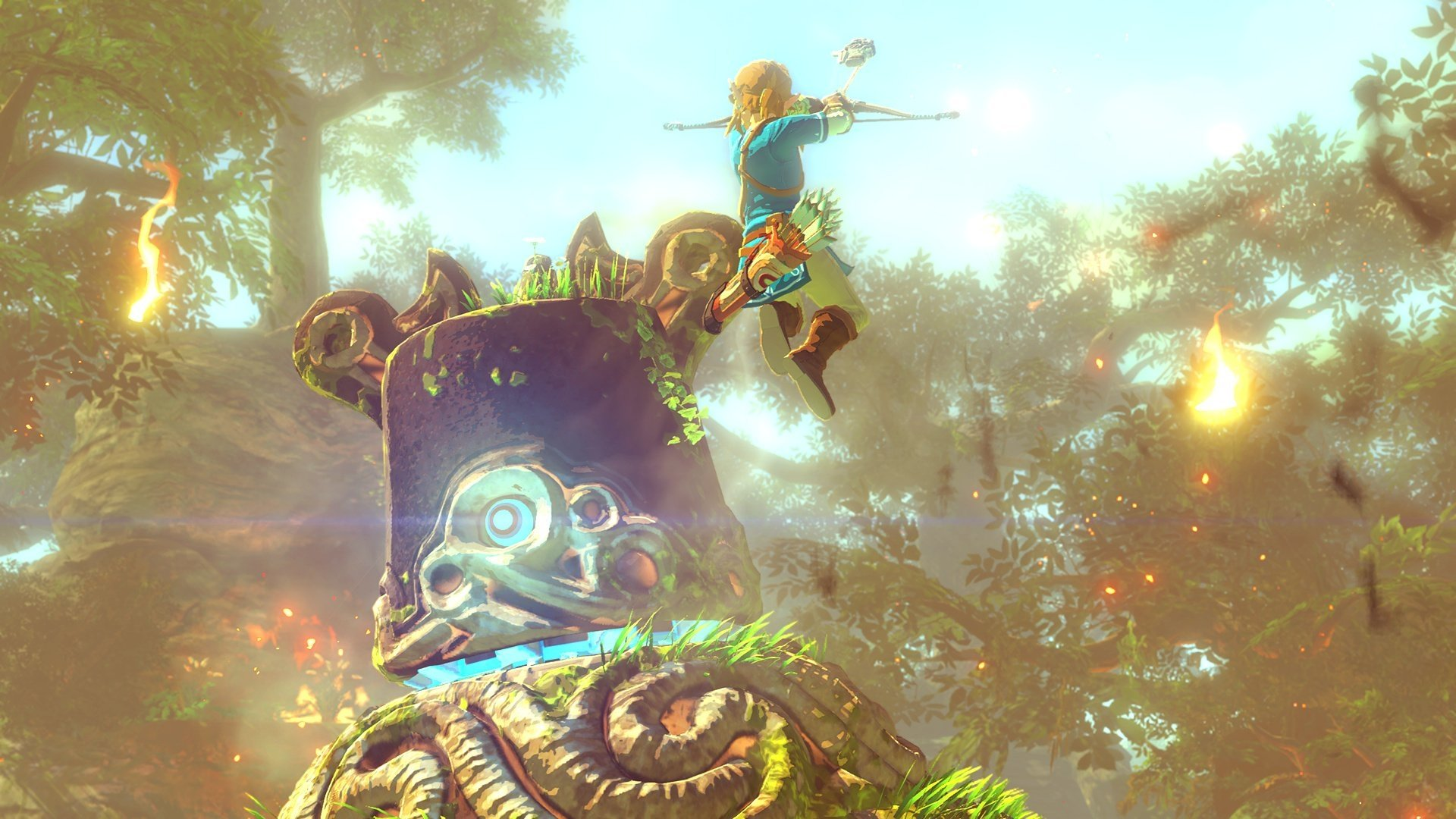 Video Game - The Legend of Zelda: Breath of the Wild  Wallpaper