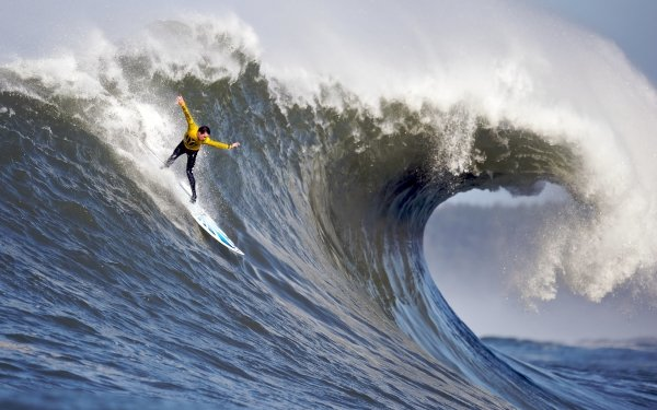 Sports Surfing Wave Water Surfer Sea HD Wallpaper | Background Image