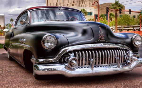 Vehículos Buick Retro Coche Vintage HDR Fondo de pantalla HD | Fondo de Escritorio