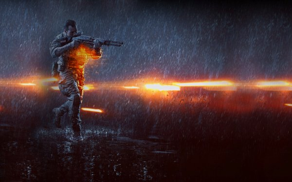 Videojuego Battlefield 4 Battlefield Lluvia Fondo de pantalla HD | Fondo de Escritorio