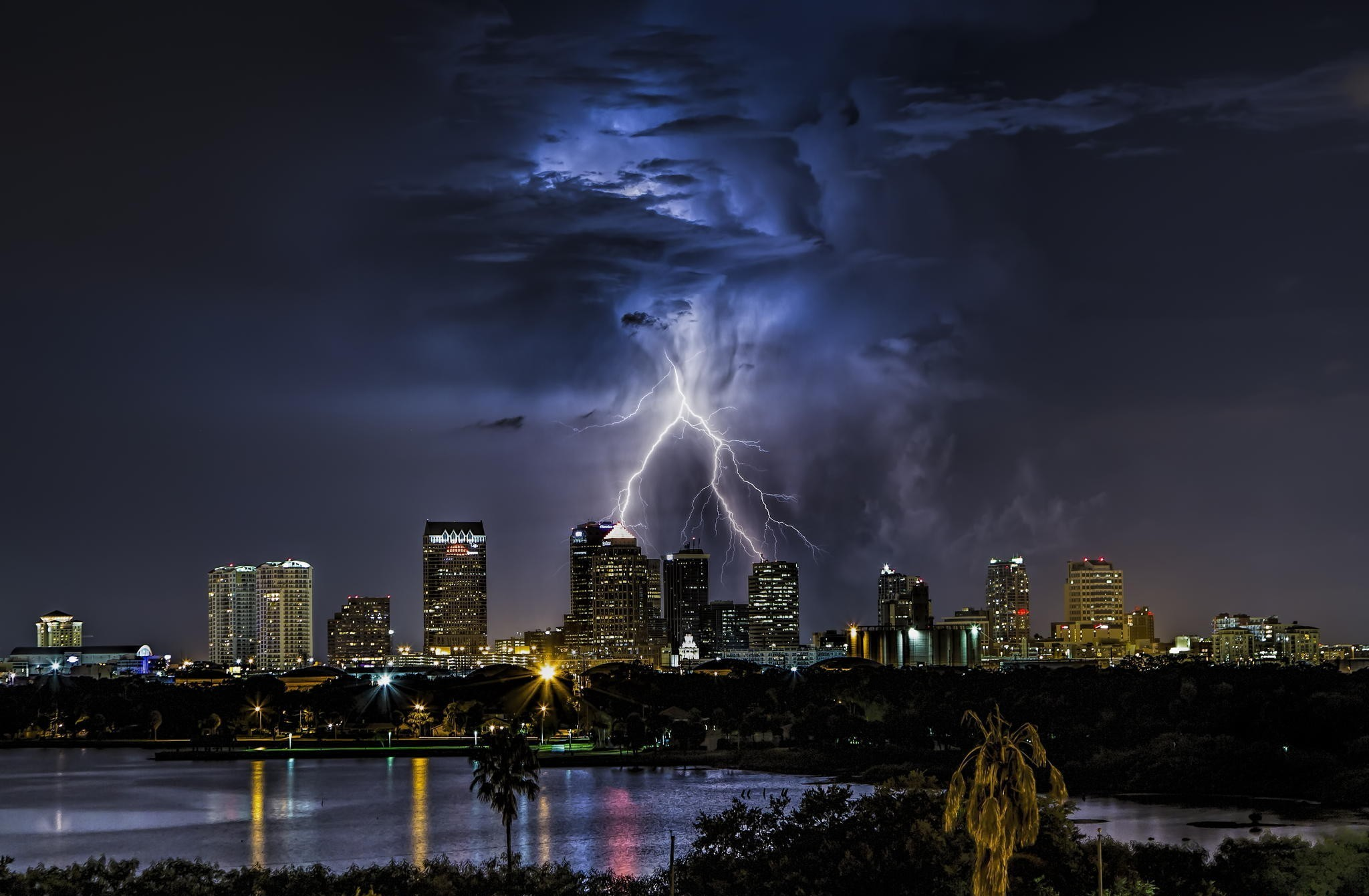 Tampa florida hd wallpaper background image 2048x1340 - Tampa bay lightning wallpaper ...