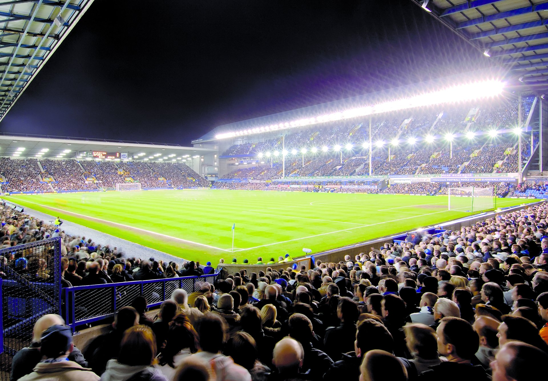Goodison Park Full Hd Wallpaper And Background Image 2718x1890 Id 541161
