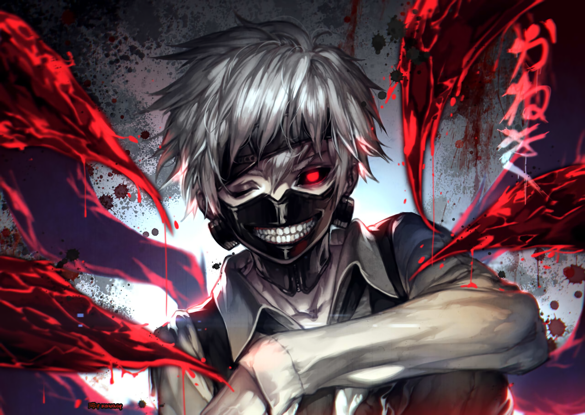 anime tokyo ghoul touka kirishima a· hd wallpaper background id541200